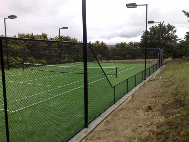 Hyline chain mesh fencing tennis court security